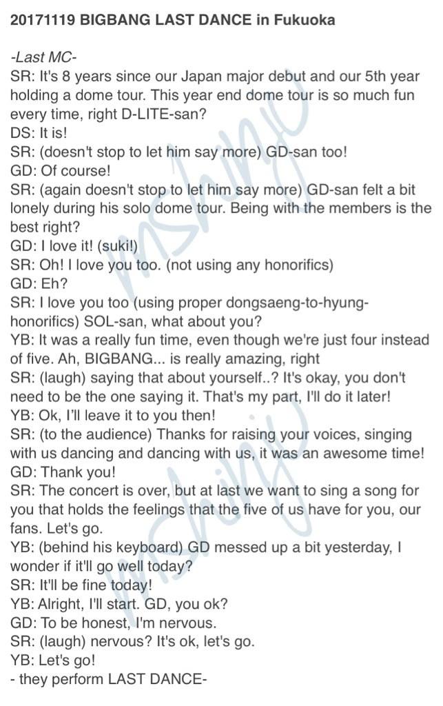 BIGBANG via mshinju - 2017-11-19  (details see below)