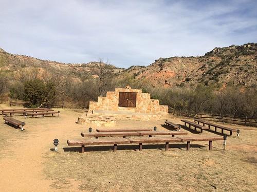 Palo Duro amphitheatre