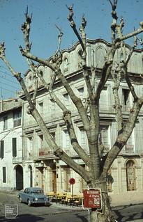 Hotel de la Poste, Arles. And Penelope.