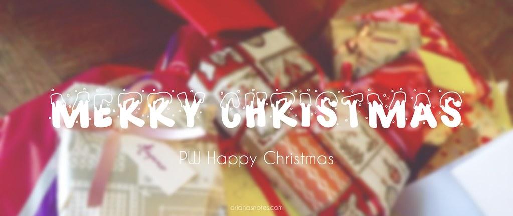 PW happy christmas