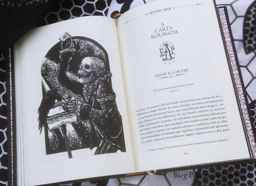 A carta roubada, Edgar Allan Poe, ilustração