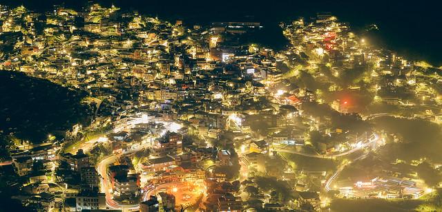 黃金山城 九份夜景