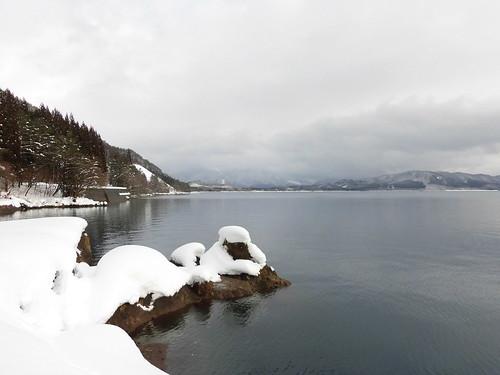 日本一深い湖です