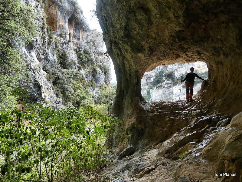 Guara: senda de les Escaleretas