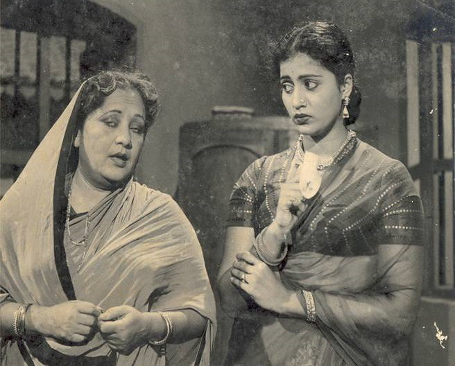 Gemini Ganesan Latest Photos: Pushpavalli (Right) & Gulab (Actress Of 30s) In Sansar-195