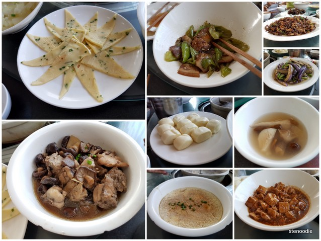 Chinese dishes