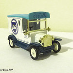 Diecast model celebrating the 1992 Preston Guild