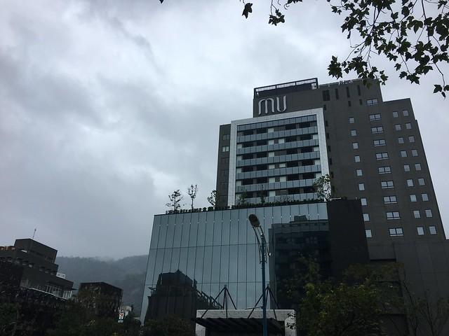 站在行館往對面拍@宜蘭礁溪寒沐酒店