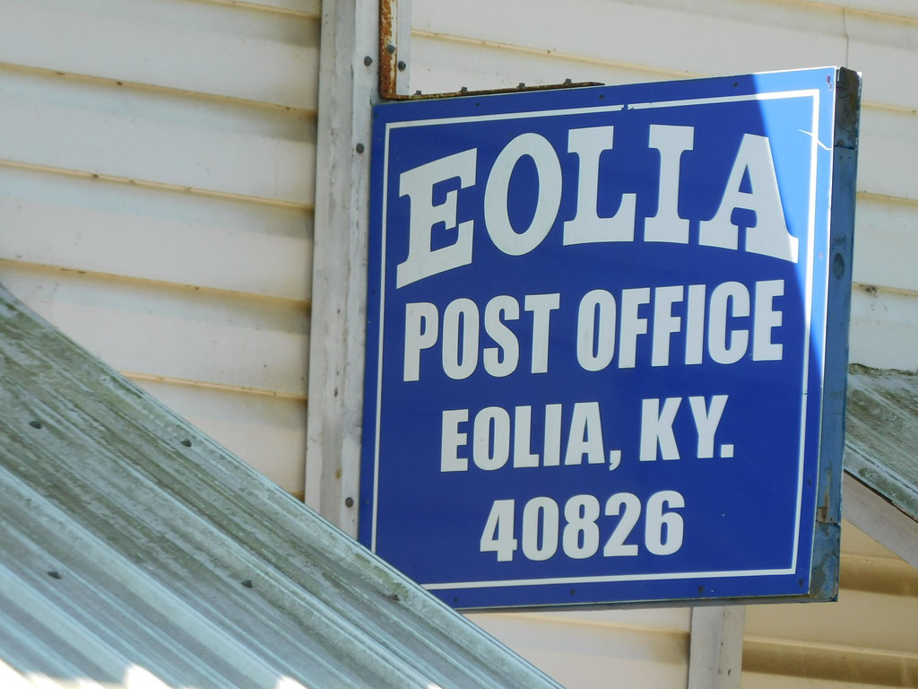 US Post Office -- Eolia, Kentucky