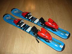 Dětské carvingové lyže Tecno Pro Skitty 70cm - titulní fotka