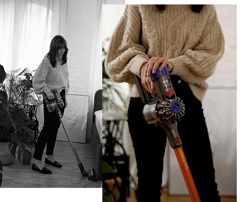 dyson v8 staubsauger cleaning home lifestyle better living homework stylish gadget motor design corporate photography loft loftliving cats & dogs blog ricarda schernus düsseldorf germany max bechmann fotografie film 5