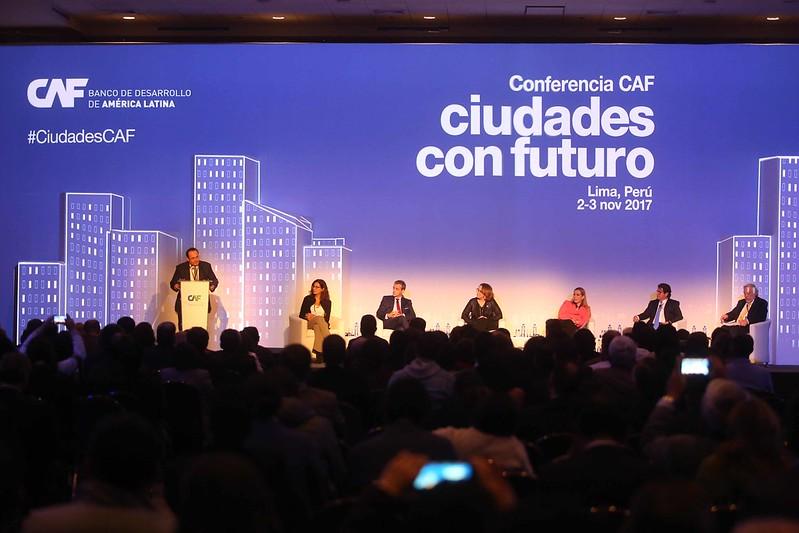 Conferencia CAF: Ciudades con Futuro
