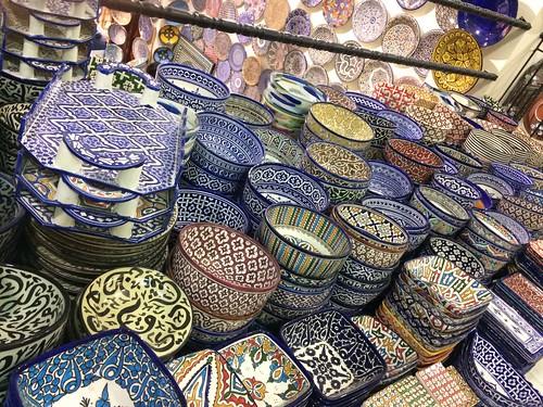 綺麗な模様の陶磁器