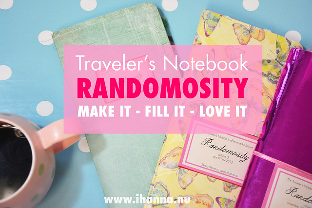 Traveler's Notebook: Random Journaling