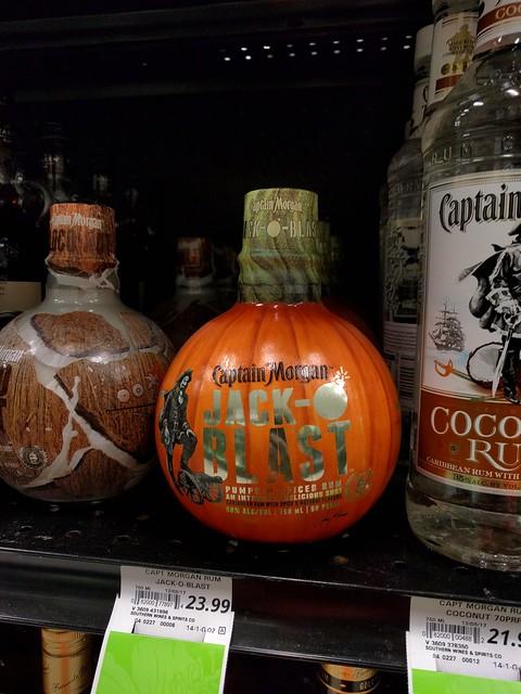 Pumpkin spice _rum_? NOOOOOOO!