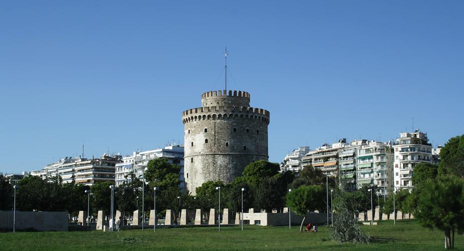 Top bezienswaardigheden Thessaloniki: witte toren | Mooistestedentrips.nl