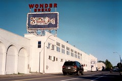 Closed Wonder Bread factory in Memphis