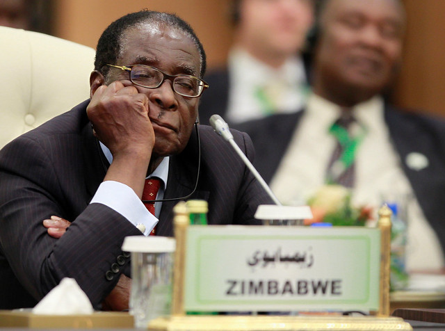 Robert Mugabe's presidency in pictures