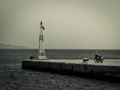 griekenland retro20 landschap zee