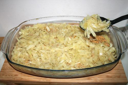 78 - Restlichen Kohl einfüllen / Fill in remaining cabbage