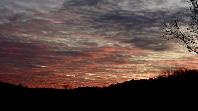 Thanksgiving Sunset, take 2...