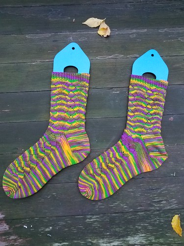 Mardi Gras Mockey Socks