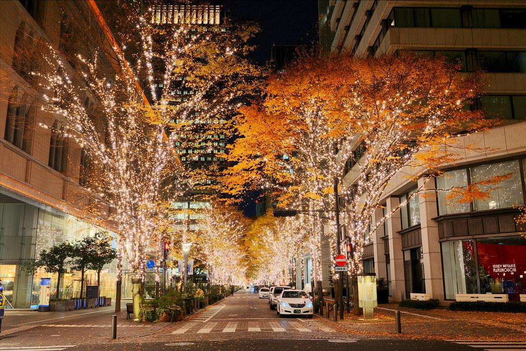 Tokyo Marunouchi Nakado-ri 丸の内仲通りイルミネーション