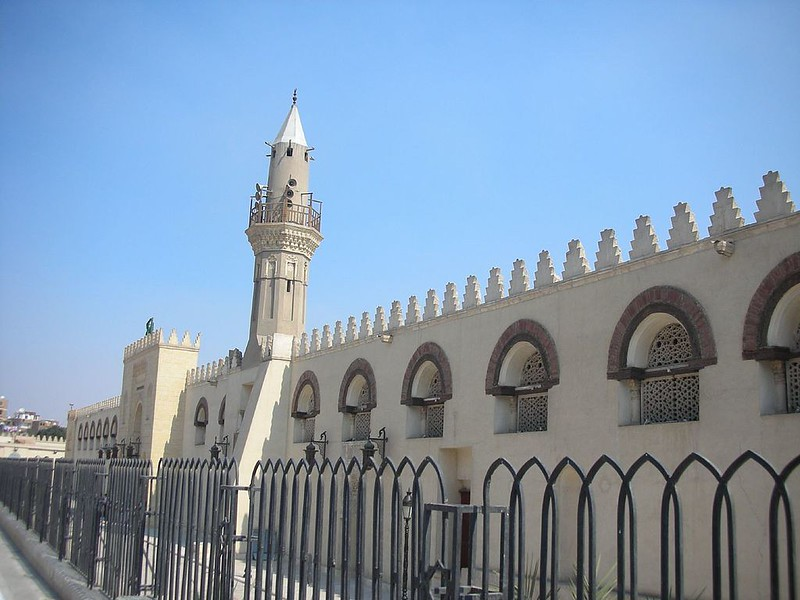 Amr Ibn al-Aas Mosque in Cairo, the place where the first capital of Egypt was founded