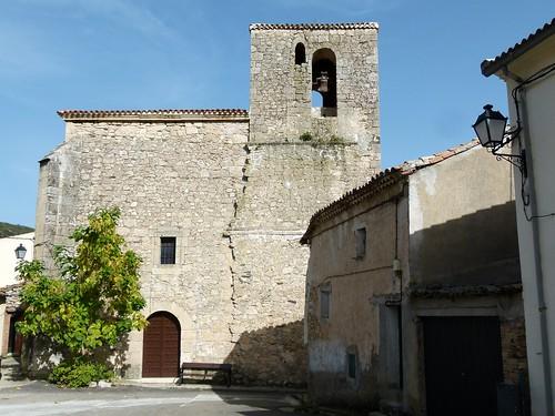 TORTUERO (Guadalajara). Spain. 2014. Sierra Norte. Iglesia de San Juan Bautista.