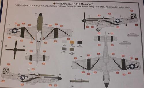 North American P-51D Mustang, Airfix 1/48 38257894832_d1283fcc7b