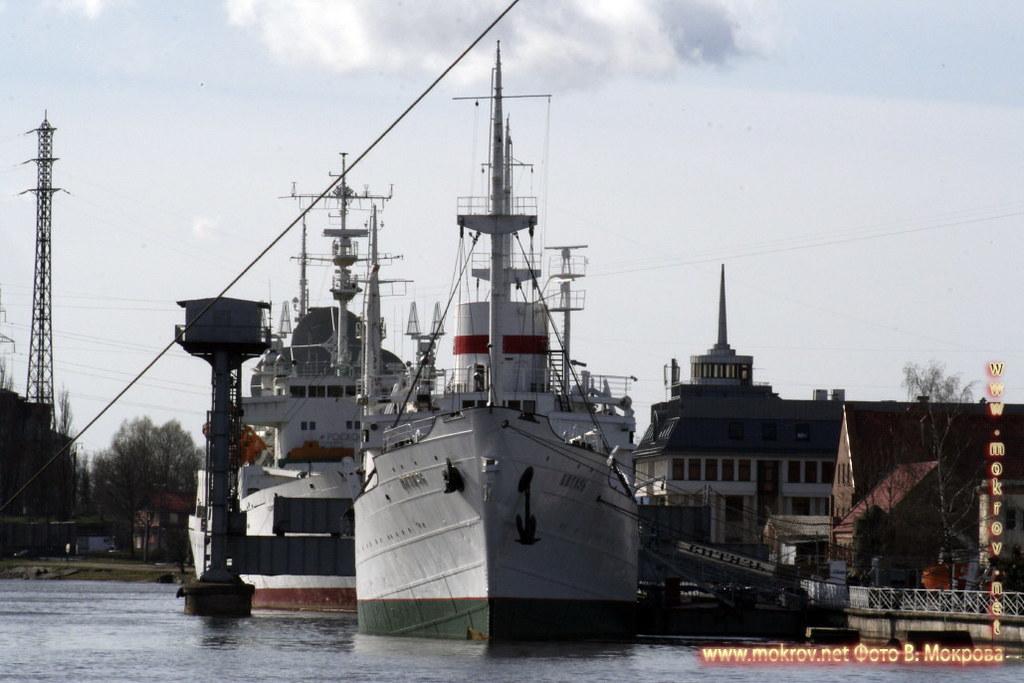 Музей мирового океана, у пристани в Калининграде.