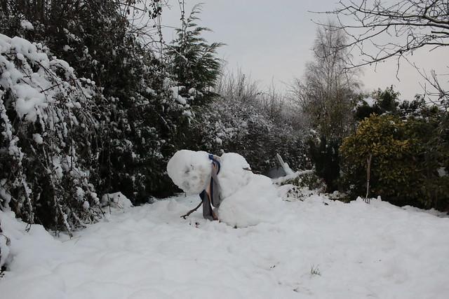 Alas, poor snowman