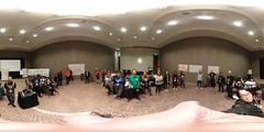 """Closing circle of """"Mission Driven Mozillians"""" from Open Innovation Team"""
