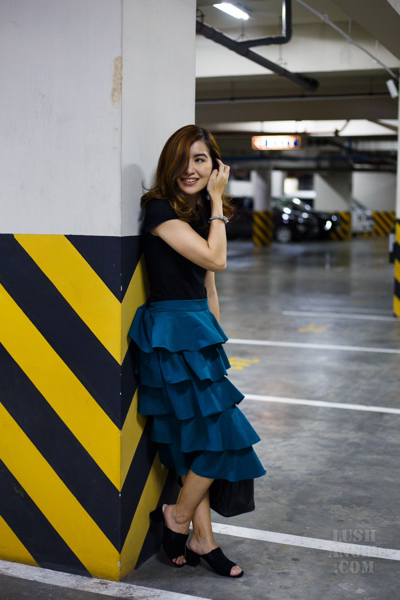ruffled-skirt-styling