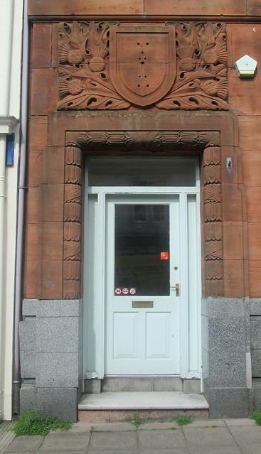 Door Detail, Former Bank, Castle Douglas