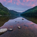 Sunrise at Glendalough Upper Lake #3, County Wicklow, Ireland