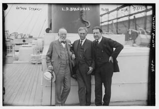 Nathan Straus, L.D. Brandeis, Rabbi Wise (LOC)