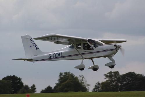 G-CCAL Tecnam P.92 Echo [PFA 318-13842] Sywell 010917