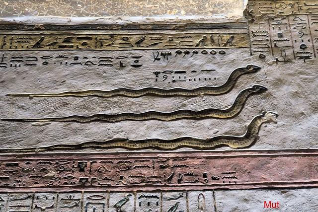 KV 11 Grab/Tomb Ramses III., Tal der Könige/Valley of the Kings