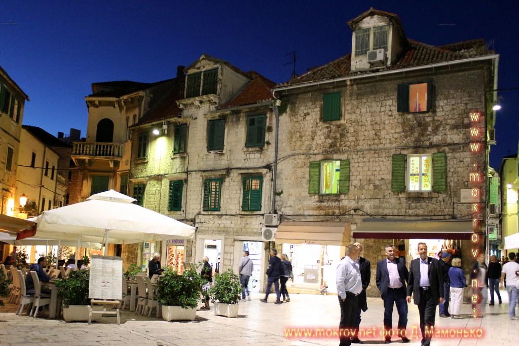 Исторический центр Сплит — город в Хорватии Фотоискусство