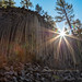 Sunburst At The Devil's Postpile by chasingthelight10