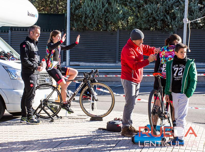 Fotos cadetes e infantiles del ciclocross de Alcobendas 2017