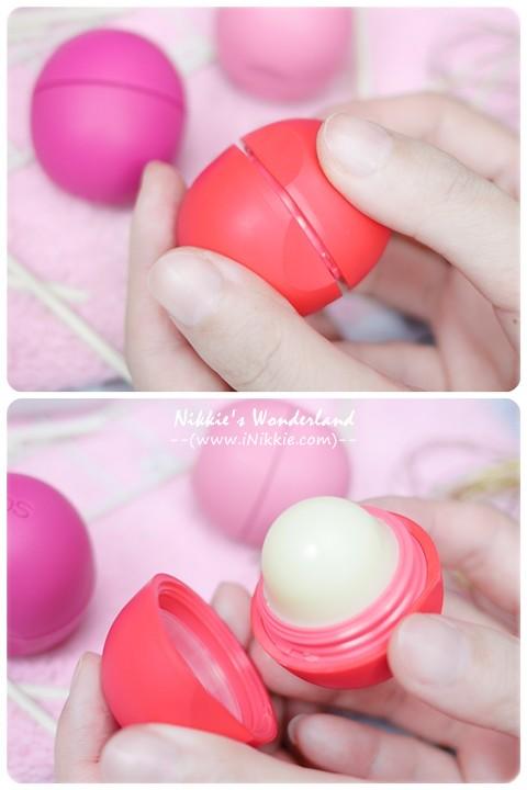 eos伊歐詩 天然護唇球Organic Lip Balm - 夏日水果Summer Fruit