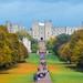 The long walk towards Windsor - England