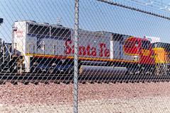 BNSF SD75M No. 8209 At Hobart Yard