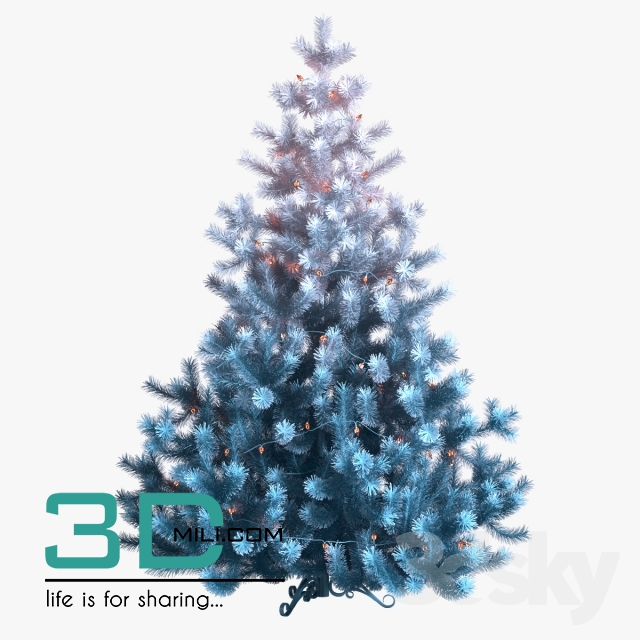 Christmas Decor 1 3dmodel Free Download