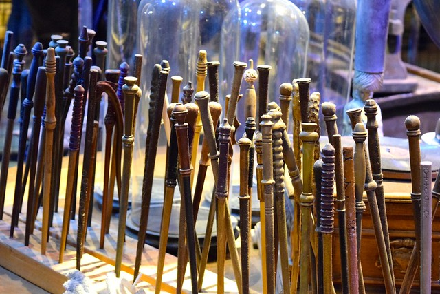 Wands at the Harry Potter Studio Tour, London | #harrypotter www.rachelphipps.com @rachelphipps