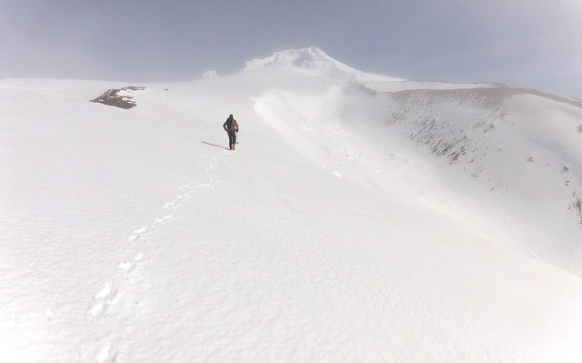 Searching for lost skis