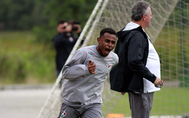Treino do Fluminense - 30/11/2016