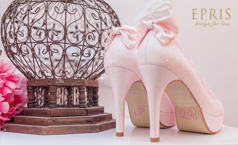 ido貼鑽 粉紅婚鞋,婚鞋,新娘鞋,婚鞋推薦,婚紗鞋,婚禮鞋,婚鞋推薦品牌,伴娘鞋,低跟婚鞋,婚鞋禁忌艾佩絲EPRIS婚鞋